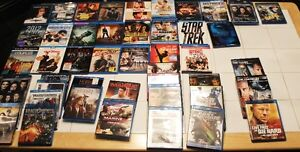 Over 100 Mint cond. Blu-rays and reg. DVDS now available