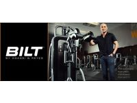 Exercise Gym equipment BILT BY AGASSI & REYES C.O.D Squat Machine