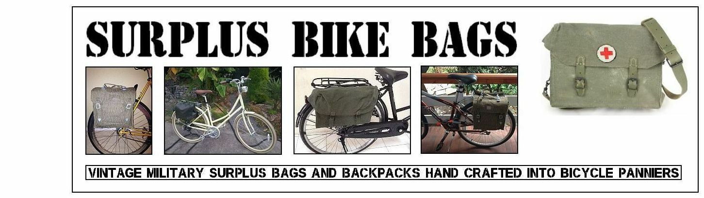 Surplus Bike Bags