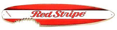 Red Stripe Beer Surfboard Sign  - Size: 19