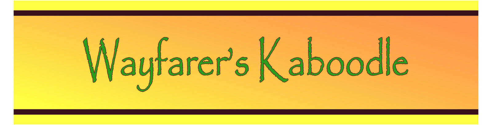 Wayfarer's Kaboodle