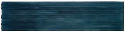 Modern Wave Dark Blue Frosted Glass Backsplash Tile Kitchen Bathroom MTO0041