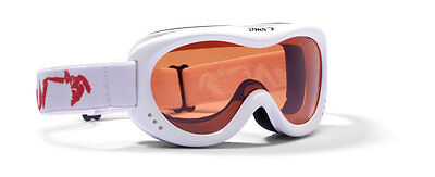 DMN Snow 6 Single junior white Skibrille Snowboardbrille