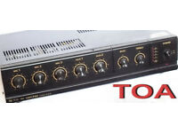 TOA 30 Watts PA Amplifier Model: A31 - E