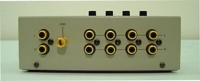 New Luxman line selector AS-4III Japan import Free Shipping With Tracking