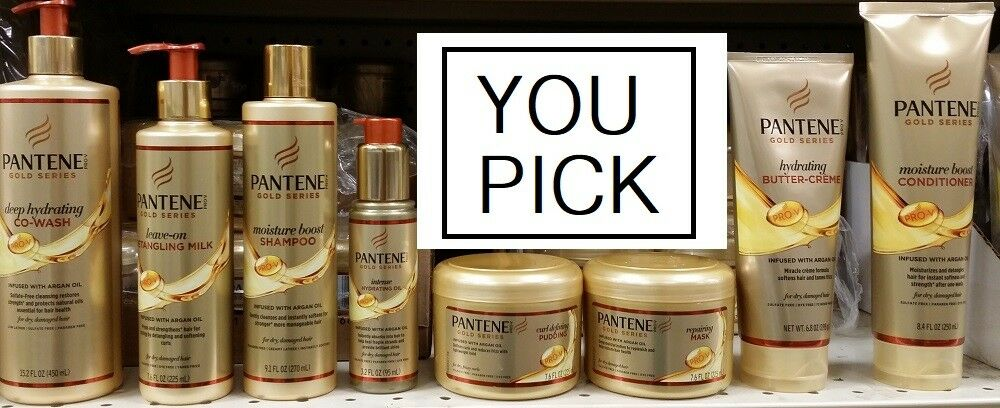 gold series argan oil hair care products