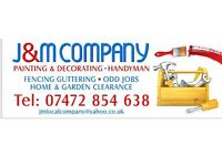 J&M Company- Painting, Decorating, Fencing and Handyman Services