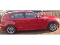 BMW 1 Series SE, Excellent condition, 12 months MOT, Low mileage