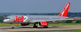 Return flight tickets East Midlands to Malaga 30/9/17 to 7/10/17 Jet 2
