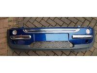 Mini Front Bumper - 862M - Indi Blue Metallic