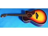 Yamaha AC3M Electro Acoustic Guitar. Competes with Martins/Taylor. Exceptional value. £499 ono