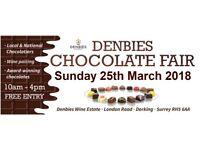 DENBIES CHOCOLATE FAIR