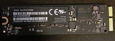 Apple SSD Samsung 512GB SSUAX MZ-JPU512T/0A6 655-1805D