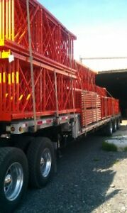 Redirack End Frames, Load Beams, Wire Mesh Decks, Safety Bars
