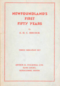Rare Vintage Book: Newfoundland's First Fifty Years