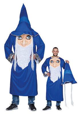 Verrückter Zauberer Herren Kostüm Magier - Herren Zauberer Kostüm