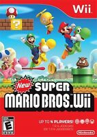 Wanted to buy: Super Mario Bros. for Wii
