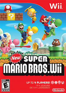 Looking for New Super Mario Bros for Nintendo Wii
