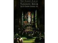 TANGERINE DREAM - LIVE AT COVENTRY CATHEDRAL 1975 DVD (NTSC & PAL all regions)