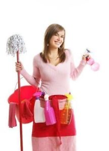 CLEANING LADY TODAY/TOMORROW/ANYDAY/BRAMPTON/MISSISSAUGA $25+