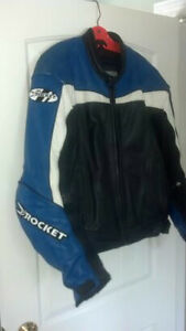 Joe Rocket leather motorcycle jacket for sale.