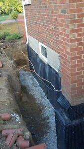 WATERPROOFING/FOUNDATION WORK/DRAINAGE/SEWER MAINS