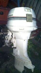 Moteur hors bord Johnson 90 hp V4