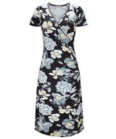 Brand new Joe Brown's floral wrap dress size 18