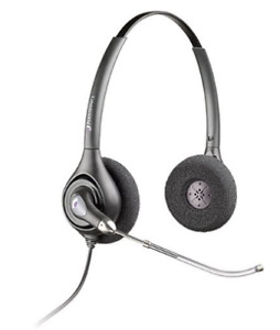 Plantronics SupraPlus Digital Office Headset Headphones (new)