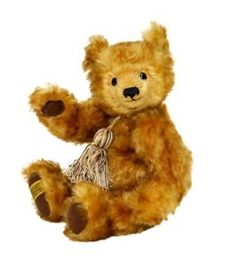 Merrythought Limited Edition Teddy Bear 'Oscar' New Mohair Made in UK