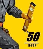 ✔  $50/h ⭐SPECIAL ⚒ Handy Man Services 4U ツ handyman toronto