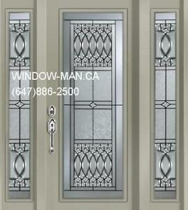 Single Entry TwoSideLites Door Front  contemporary or traditiona