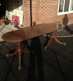 Beautiful dining table with leaf