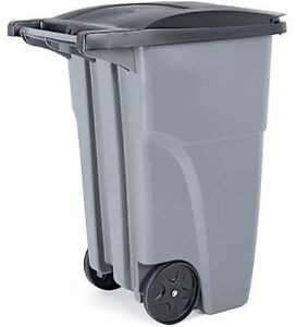 Roll out garbage bin new unused