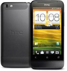 ANDROID HTC ONE V UNLOCKED DÉBLOQUÉ PUBLIC MOBILE VIRGIN FIDO ROGERS CHATR TELUS BELL HSPA 4G WIFI CAMERA BLUETOOTH GPS