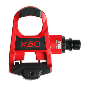 Look KEO Classic Clipless Road Bike Pedals RED NEW