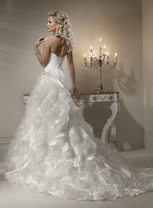 Beautiful Maggie Sottero Miri Wedding Dress for sale $700 OBO Windsor Region Ontario image 6