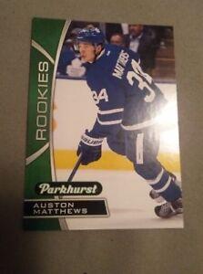 Parkhurst Auston Matthew Rookie card +400 additional cards