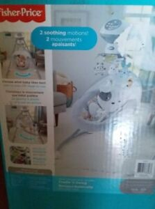 Brand New Fisher Price Cradle 'n Swing