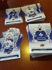 500 Toronto Maple Leafs centennial cards