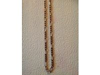 """Gorgeous 9ct 375 Gold 25"""" Weighty Figaro Chain Fully Hallmarked"""