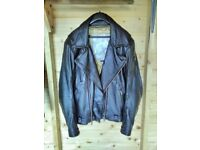 Triumph Motorcycle Traditional Leather jacket