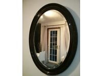 large antique bevelled edge glass Mirror