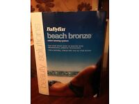 BaByliss 8350U Beach Bronze Salon Tanning System Brand New In Box RRP £129