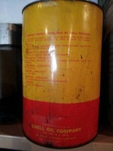 SHELL aeroshell grease 5lb tin unopened very very rare!!! Belleville Belleville Area image 2