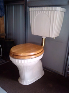Ivory Toilet Gumtree Australia Free Local Classifieds