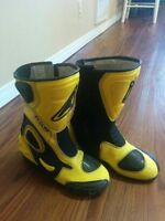 Teknic Armoured Leather motorcycle Boots