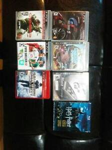 PS3 Playstation with 2 controllers and some games and movies Kitchener / Waterloo Kitchener Area image 2