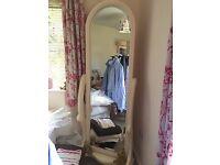 Shabby Chic - Full Length Bedroom Mirror