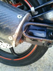 HONDA CBR125 2007 AND UP HINDLE BOLT ON CARBON FIBER EXHAUST CAN Windsor Region Ontario image 3